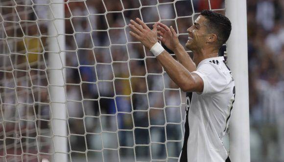 Cristiano Ronaldo en el último partido de la Juve. Foto  AP. cd8359254c7c5
