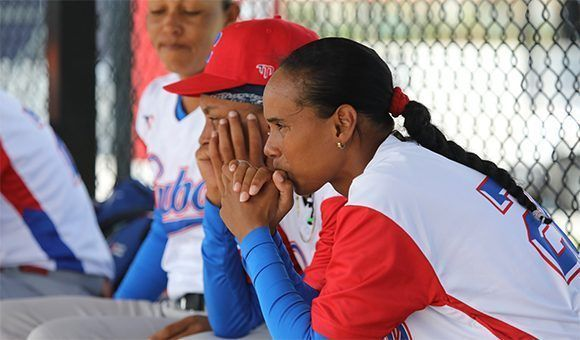 Otra vez las cubanas perdieron en el cierre de un partido y no avanzan en Copa Mundial de Béisbol