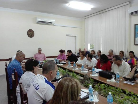 Miguel Diaz-Canel on a Working Visit to Villa Clara