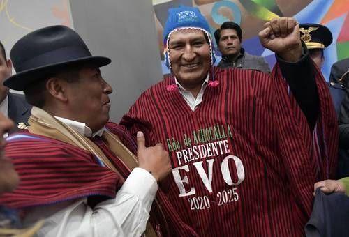 Evo Morales: Trump, el mejor jefe de campaña para AMLO
