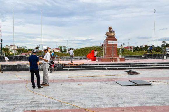 Plaza Fidel Castro en centro de Vietnam