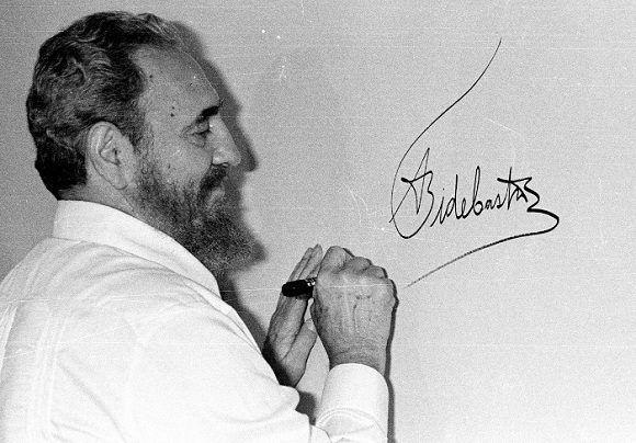 Frases legendarias de Fidel Castro (+ Fotos)
