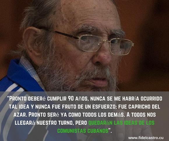 Frases legendarias de Fidel Castro