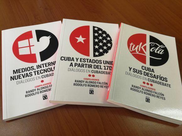 Cubadebate se muda al papel con tres libros junto a Ocean Sur