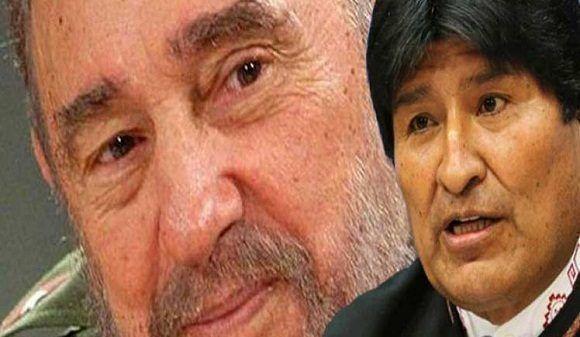 Destaca Evo Morales valores de Fidel en aniversario de su natalicio