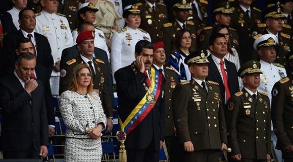 Antentan contra la vida del presidente Nicolás Maduro durante acto en Caracas