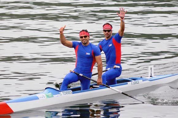 Silver for double Cuban in World Cup of Boating