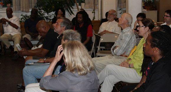 Grupo solidario en Estados Unidos reitera compromiso con la Revolución Cubana