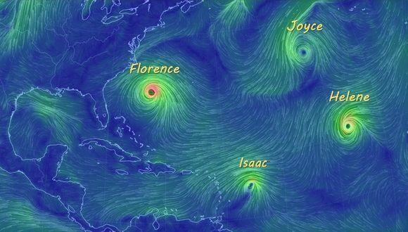 Temporada ciclónica: activa la primera quincena de septiembre