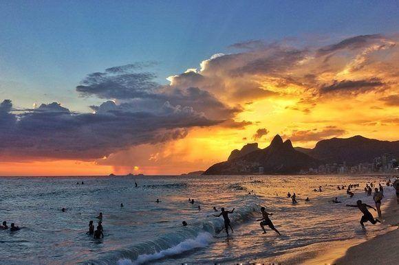 Autor: Bruno Ipiranga. Locación: Playa de Ipanema, Río de Janeiro, Brasil.