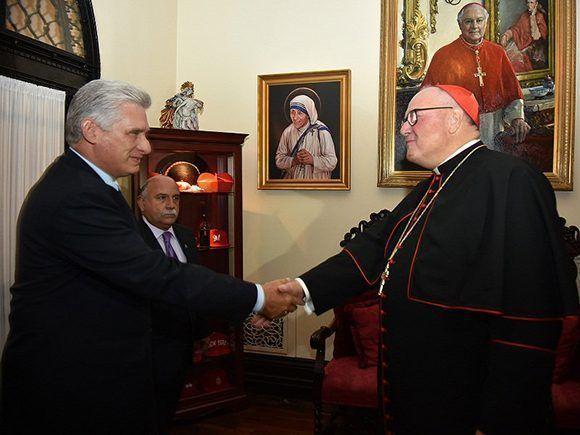 Presidente cubano desarrolla amplia agenda dentro y fuera de ONU