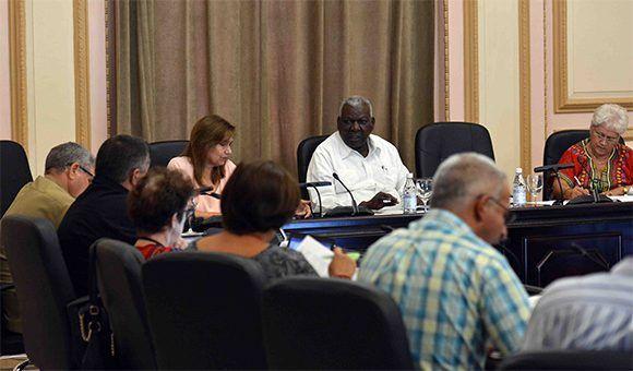 Se reúnen presidentes de las comisiones permanentes de trabajo de la Asamblea Nacional