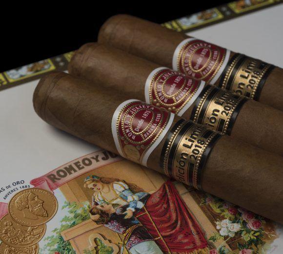 Presentan en España edición limitada de puros Romeo y Julieta Tacos