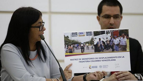 Jorge Rodríguez: Se gestó una gigantesca estafa sobre la migración de venezolanos