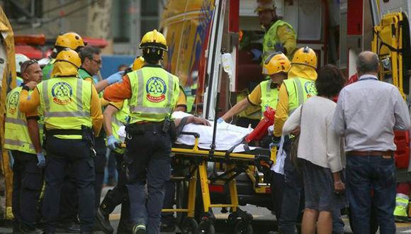 Un muerto y varios heridos en derrumbe en lujoso hotel de Madrid