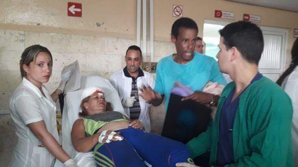 Accidente de tránsito masivo en Pinar del Río deja unas 40 víctimas