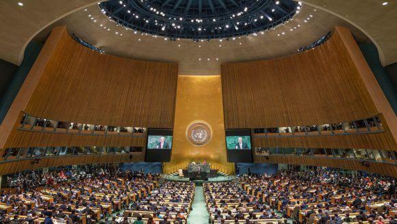 Asamblea General de Naciones Unidas. Foto: DPA.