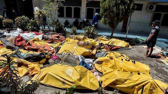 El devastador paso del tsunami y terremoto en Indonesia