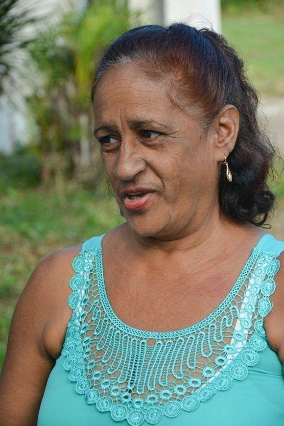 Juana Castillo Torres, una de las profesoras. Foto: Roberto Suárez.