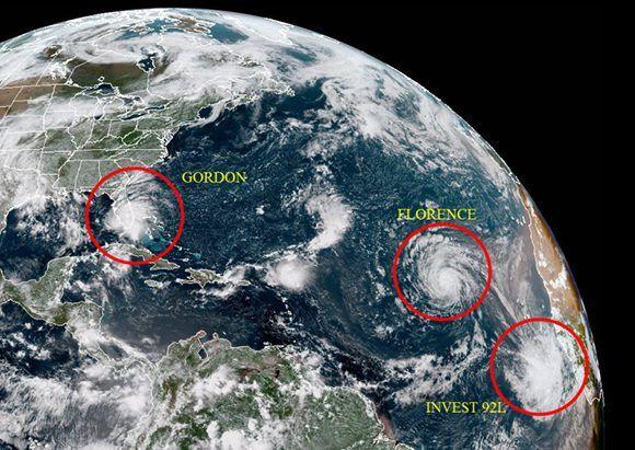 Tormenta Florence podría convertirse en huracán categoría 4