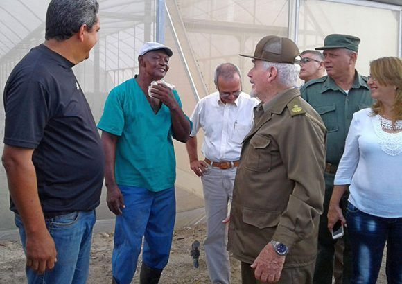 Ramiro Valdes Oversees Development Plan on the Isle of Youth