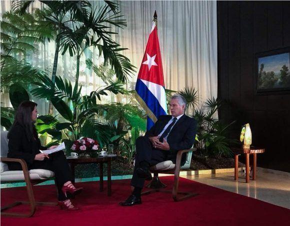 Relaciones Cuba-EEUU están en retroceso, dice presidente Díaz-Canel