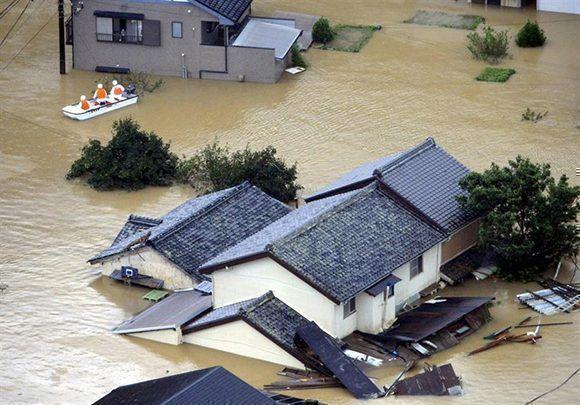 El supertifón Trami que amenaza a Japón