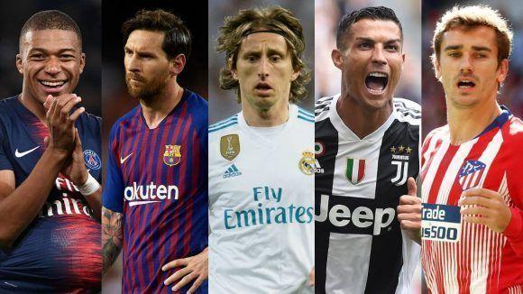 57ec9b6a0c482 La revista France Football ha dado a conocer este lunes la lista de los 30  nominados al Balón de Oro 2018. LaLiga vuelve a ser protagonista con un  total de ...