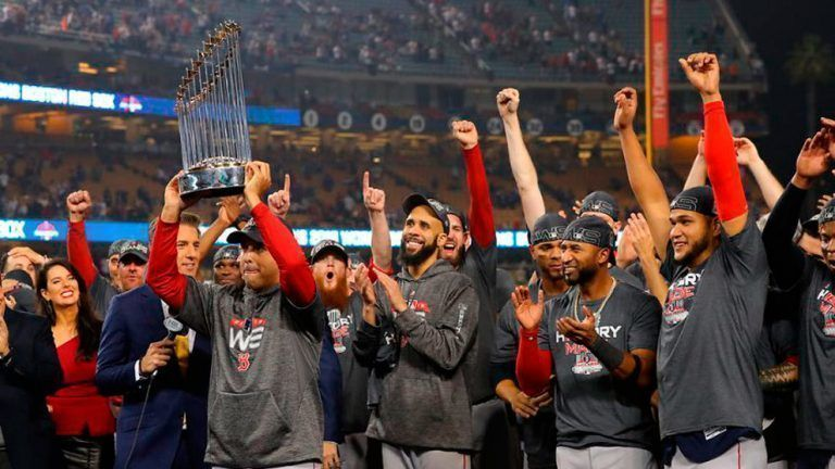 Medias Rojas de Boston son campeones