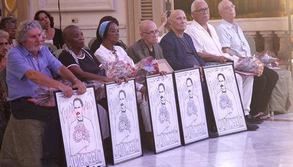 Entrega AHS a condición Maestro de Juventudes a personalidades de la Cultura cubana