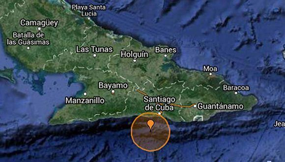 Sismo en el oriente cubano