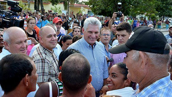 Miguel Diaz-Canel Bermudez, President of the Councils of State and Ministers. Photo: Cubadebate.
