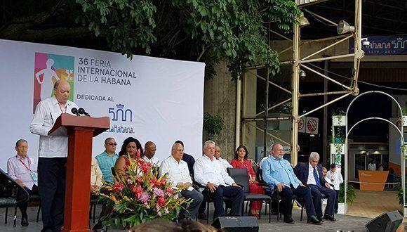 En presencia de Díaz-Canel, inauguran FIHAV 2018 (+Fotos)