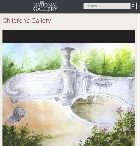 Dibujo de niña cubana es exhibido por la National Gallery de Londres ...