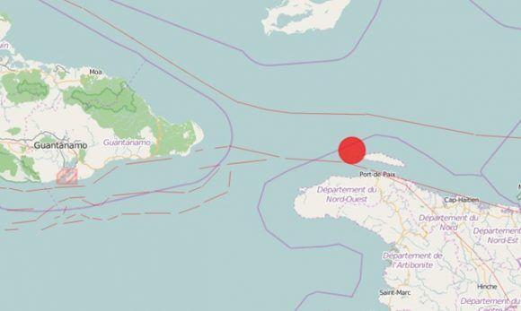 Se registró sismo de magnitud 5,9 tres provincias orientales de Cuba