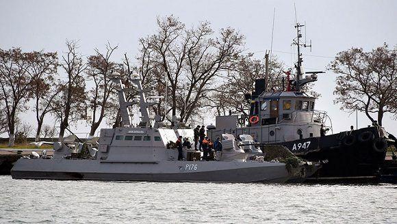 Tensión en Crimea: Colisionan buques militares de Rusia y Ucrania