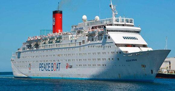 De nuevo en Cuba el Crucero por la Paz