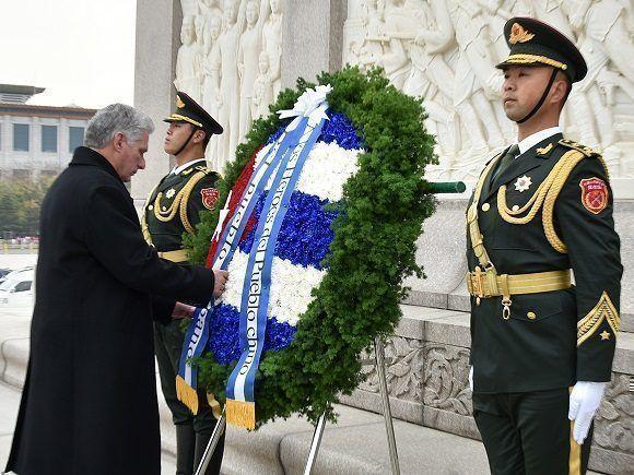 Relaciones Cuba-China son paradigmáticas — Díaz-Canel