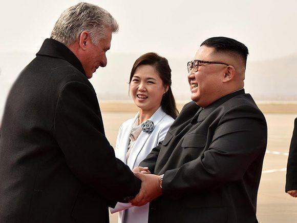 Kim Jong Un felicita a Raúl y Díaz-Canel por 60 años de relaciones entre Cuba y Corea Democrática