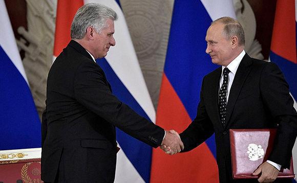 Concluye visita del Presidente cubano a la nación rusa