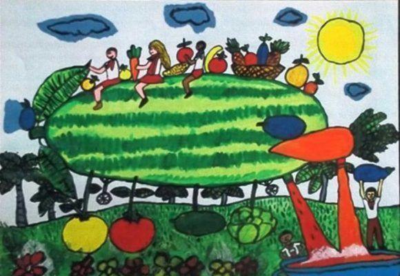 Niño cubano gana Premio Internacional de dibujo