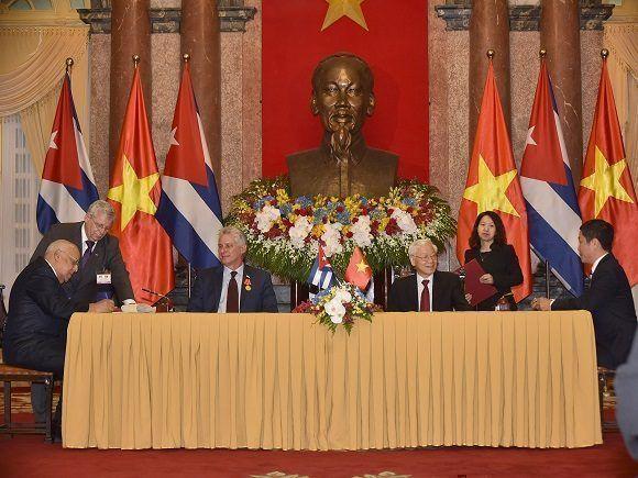 Firman Cuba y Vietnam nuevo acuerdo comercial bilateral (+ Tuits y Fotos)