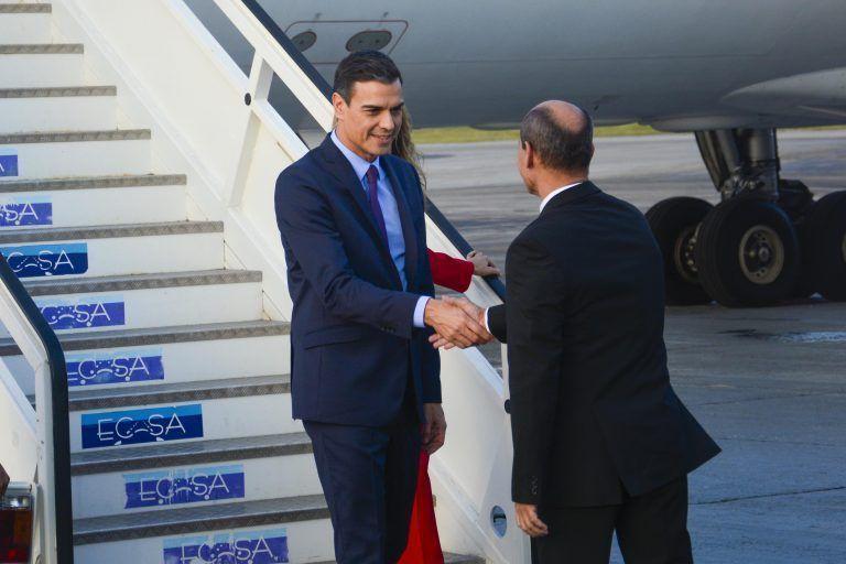 En Cuba el Presidente del Gobierno del Reino de España