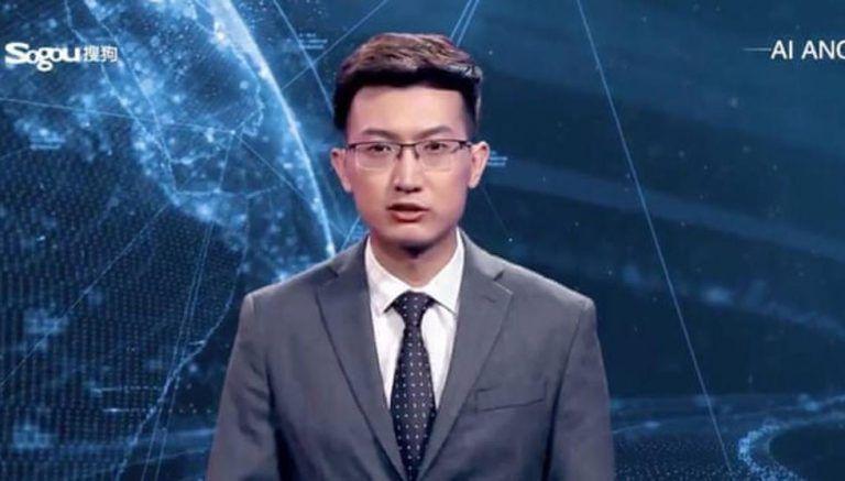 Presentadores virtuales en reportes televisivos de Agencia de noticias china (+ Video)