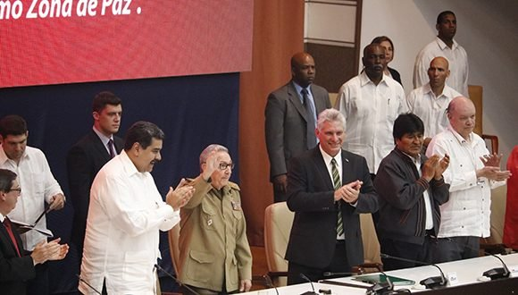 Raúl Castro asiste a ceremonia por el XIV aniversario del ALBA-TCP (+ Video)