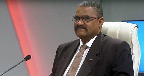 Rubén Remigio Ferro, Presidente del Tribunal Supremo Popular. Foto: Captura de pantalla/ Mesa Redonda/ Youtube.