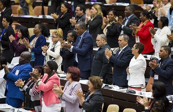 La Asamblea Nacional aprueba Constitución que irá a referendo el 24 de febrero de 2019. Foto: Irene Pérez/ Cubadebate.