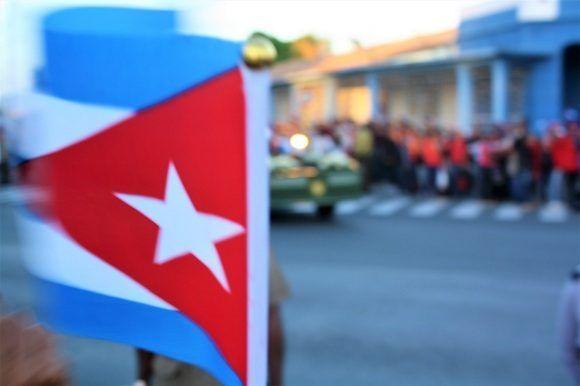 Fidel: Primeros y últimos minutos de una caravana (+Fotos)
