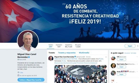 Díaz-Canel: El 2019 será un año para el regocijo, el orgullo, el compromiso y seguir haciendo por Cuba