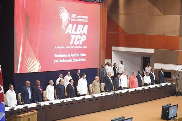 Declaración final de la XVI Cumbre del Alba